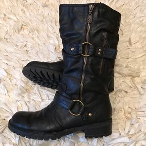 Guess biker style boots